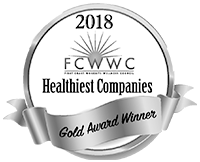 2018 Healthiest Company in Northeast Florida Gold Award